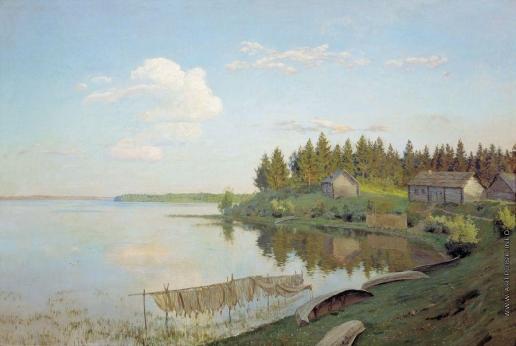 Левитан И. И. На озере (Тверская губерния)