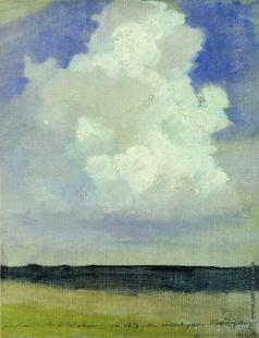 Левитан И. И. Облако