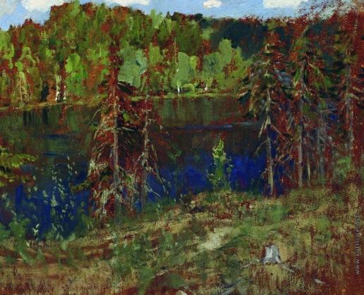 Левитан И. И. Озеро в лесу
