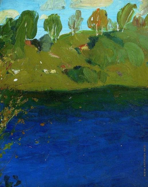 Левитан И. И. Озеро. Осень