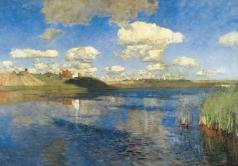 Левитан И. И. Озеро. Русь