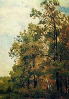 Левитан И. И. Опушка леса