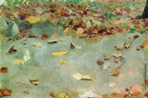 Левитан И. И. Осенние листья