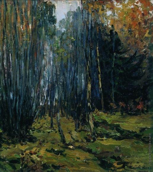 Левитан И. И. Осенний лес