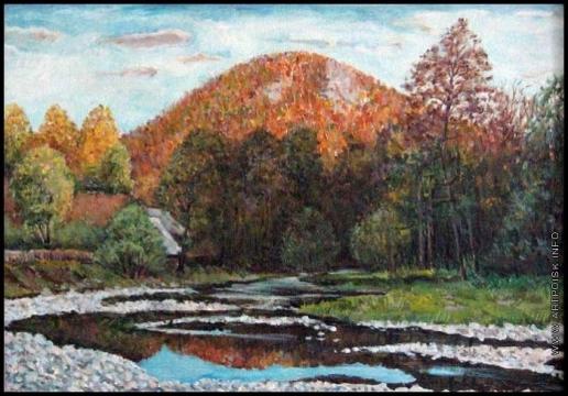 Абдуллаев В. А. Утро в горах