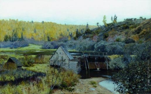 Левитан И. И. Осень. Мельница. Плёс