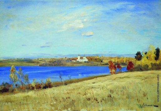 Левитан И. И. Осень. Река. 1898-