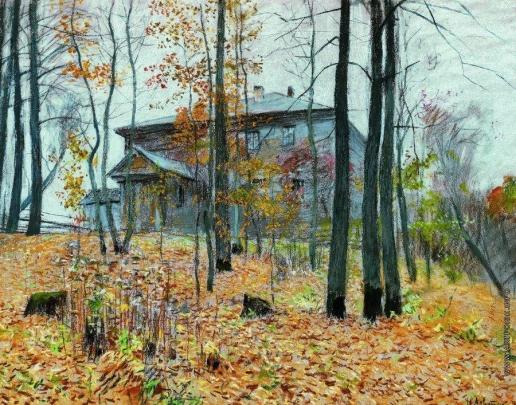 Левитан И. И. Осень. Усадьба