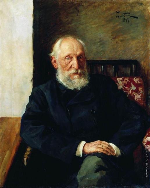 Левитан И. И. Портрет Н.П. Панафидина