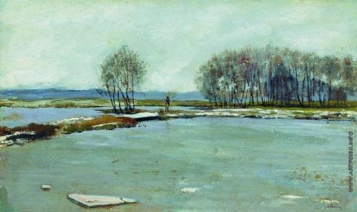 Левитан И. И. Ранняя весна