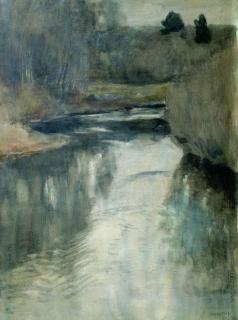 Левитан И. И. Река