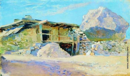 Левитан И. И. Сакля в Алупке