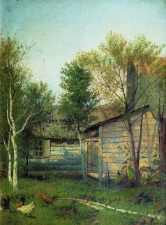 Левитан И. И. Солнечный день. Весна. 1876-
