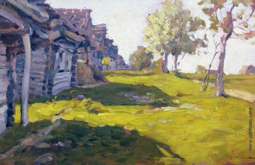 Левитан И. И. Солнечный день. Деревня