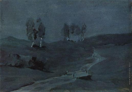 Левитан И. И. Тени. Лунная ночь