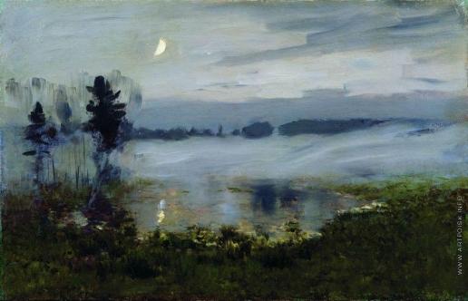 Левитан И. И. Туман над водой