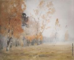 Левитан И. И. Туман. Осень