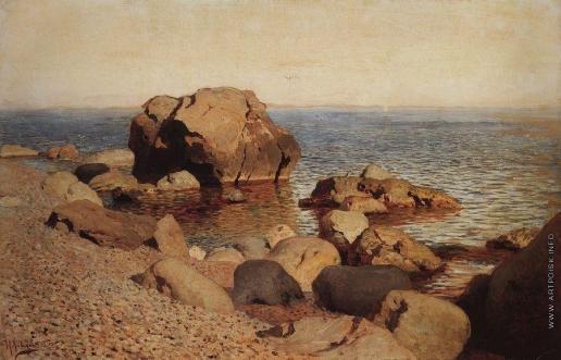 Левитан И. И. У берега моря. Крым