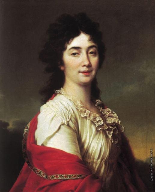 Левицкий Д. Г. Портрет Анны Степановны Протасовой, бывшей камер-фрейлины Екатерины II