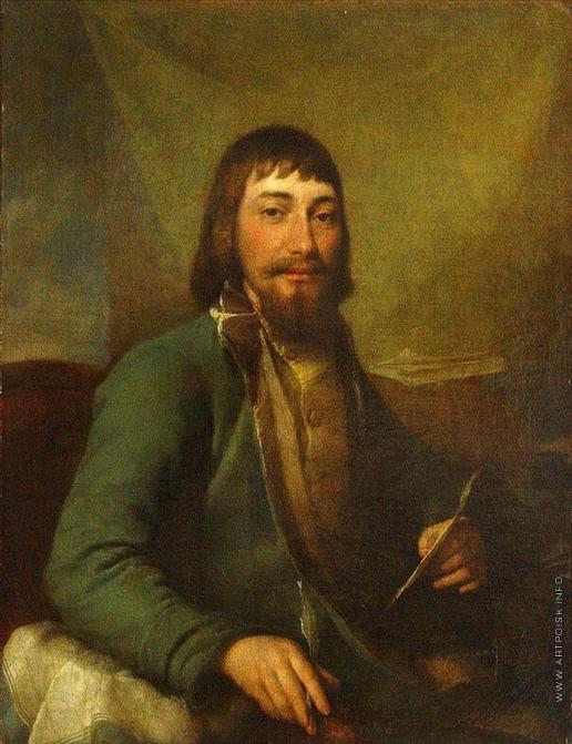 Левицкий Д. Г. Портрет купца Ивана Ивановича Билибина