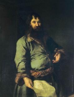 Левицкий Д. Г. Портрет откупщика Никифора Артемьевича Сеземова