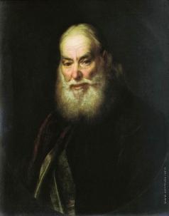 Левицкий Д. Г. Портрет священника (Г.К.Левицкого?)