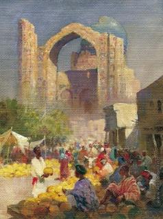 Абдулов И. А. Дынный базар (Биби Ханым)