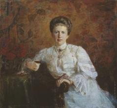 Леонтовский А. М. Портрет великой княгини Елизаветы Маврикиевны