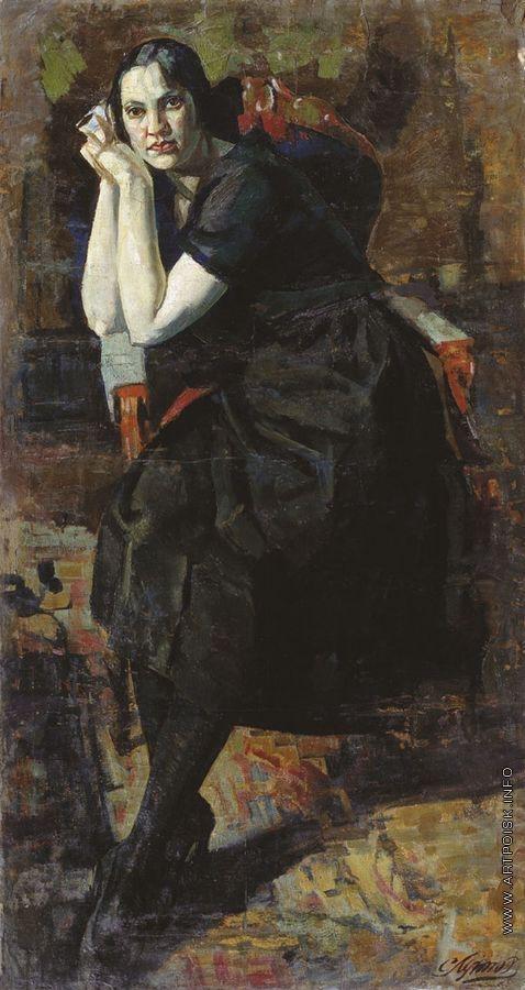 Луппов С. М. Портрет жены
