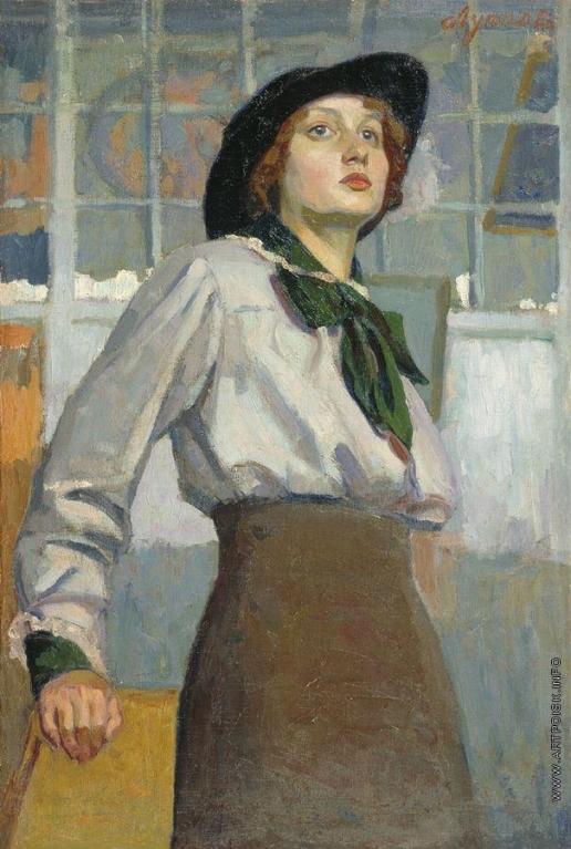 Луппов С. М. Портрет молодой женщины