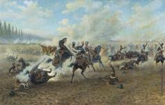 Мазуровский В. В. Кавалерийский бой