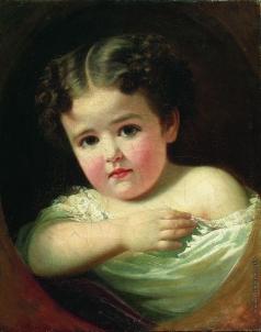 Макаров И. К. Детский портрет