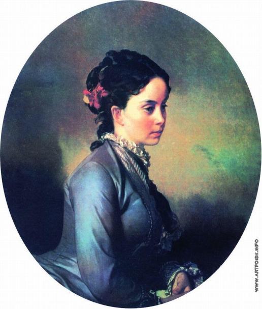 Макаров И. К. Женский портрет