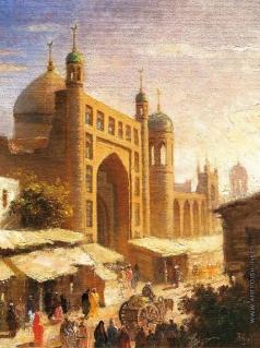 Абдулов И. А. Старый Ташкент (Шейхантаур)