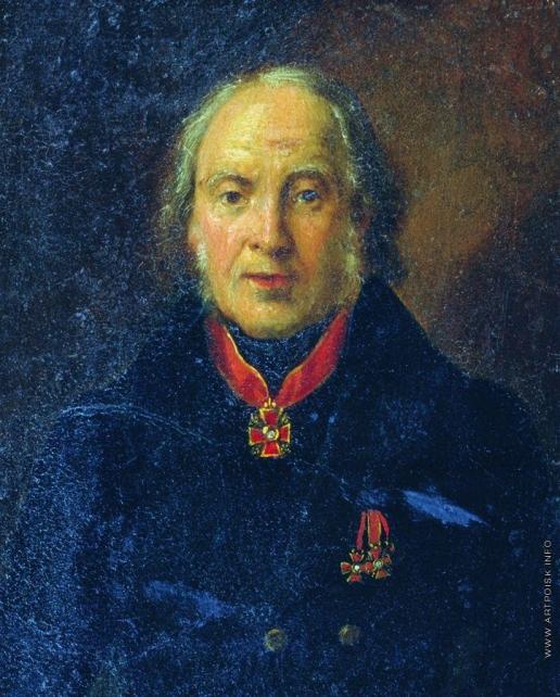 Макаров И. К. Портрет А.В. Ступина