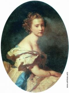 Макаров И. К. Портрет Е.Е. Муравьевой, рожденной Сафоновой
