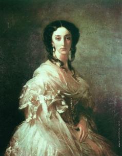 Макаров И. К. Портрет Е.С. Казнаковой, рожденной Неклюдовой. Около