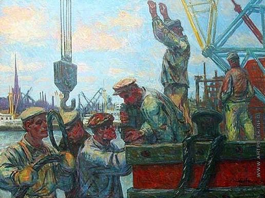 Аавик П. Э. В порту