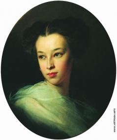 Макаров И. К. Портрет Н.А.Пушкиной