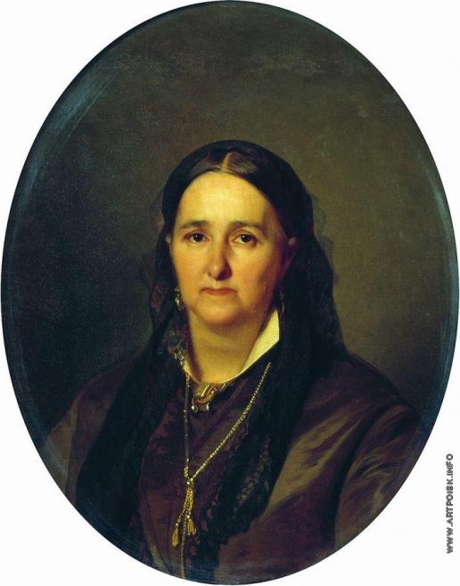 Макаров И. К. Портрет П.В. Карповой