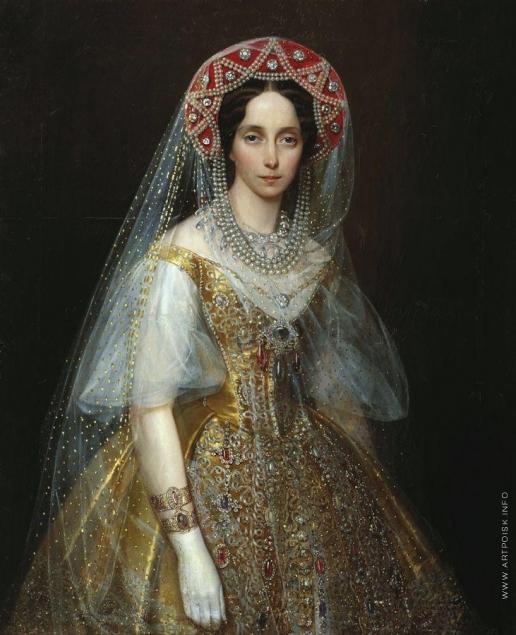 Макаров И. К. Портрет великой княгини Марии Александровны
