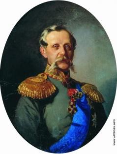 Макаров И. К. Портрет генерал-майора Е.П. Самсонова