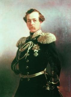 Макаров И. К. Портрет генерала Н.Г. Казнакова
