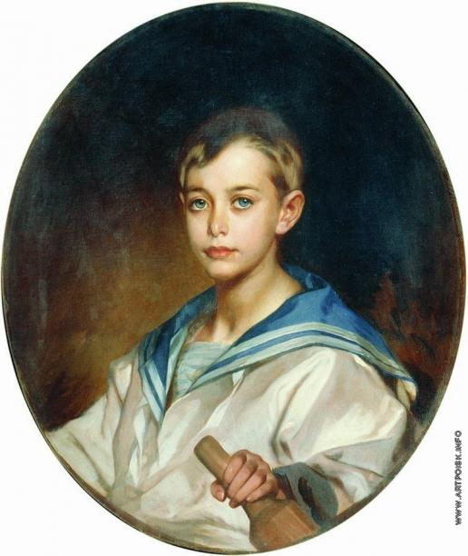 Макаров И. К. Портрет графа Б.С. Шереметева в детстве