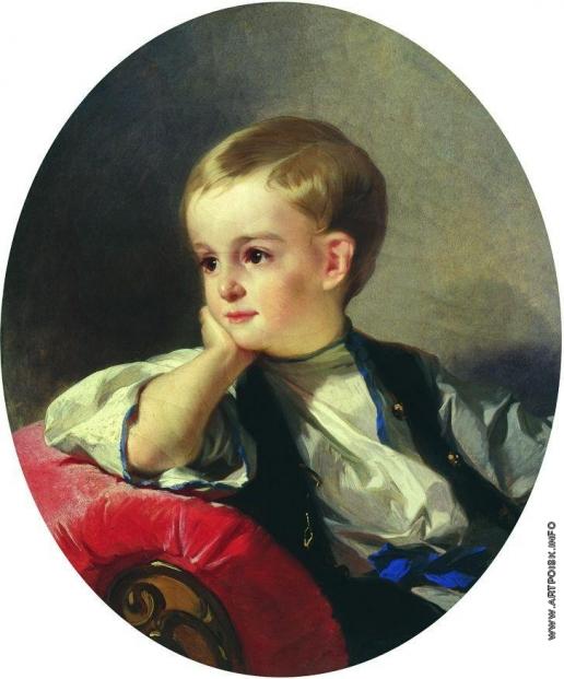 Макаров И. К. Портрет графа Бобринского ребенком