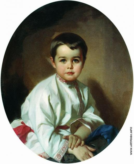 Макаров И. К. Портрет графа Павла Сергеевича Шереметева в детстве