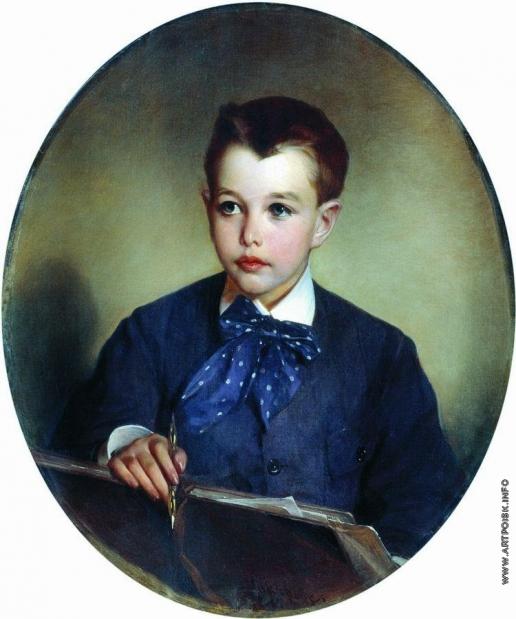 Макаров И. К. Портрет графа Петра Сергеевича Шереметева в детстве