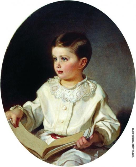 Макаров И. К. Портрет графа С.С. Шереметева в детстве