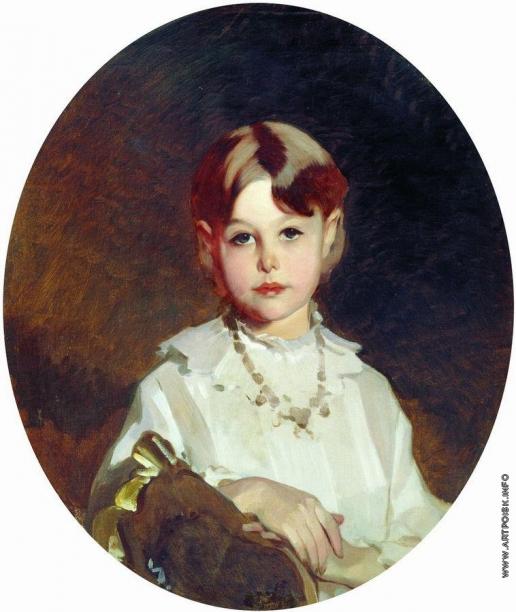 Макаров И. К. Портрет графини А.С. Шереметевой в детстве