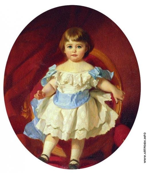 Макаров И. К. Портрет графини М.С. Шереметевой в детстве (в замужестве Гудович)
